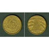 DEUTSCHES REICH 10 Reichspfennig 1933 G (J.317)  ss+