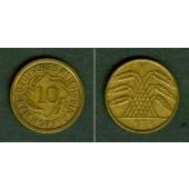 DEUTSCHES REICH 10 Reichspfennig 1934 F (J.317)  ss-vz  selten