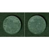 DEUTSCHES REICH 1 Reichspfennig 1945 E (J.369)  ss-vz  selten!