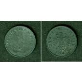 DEUTSCHES REICH 1 Reichspfennig 1945 E (J.369)  vz  selten!