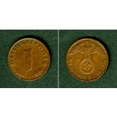 DEUTSCHES REICH 1 Reichspfennig 1936 J (J.361)  vz+  selten