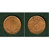DEUTSCHES REICH 1 Reichspfennig 1936 F (J.361)  vz  selten!
