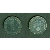 DEUTSCHES REICH 1 Reichspfennig 1945 E (J.369)  s-ss  selten!