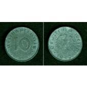 DEUTSCHES REICH 10 Reichspfennig 1943 G (J.371)  ss  selten