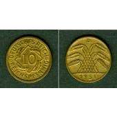 DEUTSCHES REICH 10 Reichspfennig 1931 D (J.317)  ss+  selten
