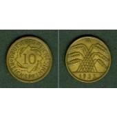 DEUTSCHES REICH 10 Reichspfennig 1933 A (J.317)  ss+  selten