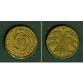 DEUTSCHES REICH 10 Reichspfennig 1934 E (J.317)  ss+  selten