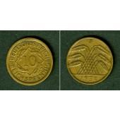 DEUTSCHES REICH 10 Reichspfennig 1934 F (J.317)  ss-vz  selten!