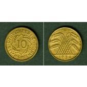 DEUTSCHES REICH 10 Reichspfennig 1934 G (J.317)  ss-vz  selten!