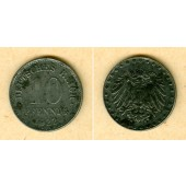 DEUTSCHES REICH 10 Pfennig (J.298) 1922 E  f.ss  selten