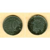 DEUTSCHES REICH 10 Pfennig (J.298) 1922 G  ss  selten