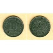 DEUTSCHES REICH 10 Pfennig (J.298) 1922 F  ss+