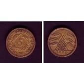 DEUTSCHES REICH 5 Reichspfennig (J.316) 1926 E  ss  selten
